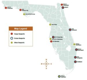florida transport services are provided in all major ports
