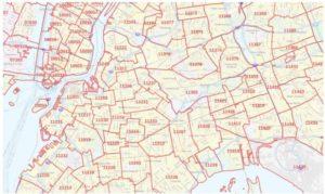 New York City Zip codes
