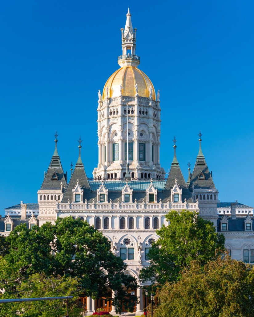 connecticut state capitol in hartford connecticut ZE8G84G