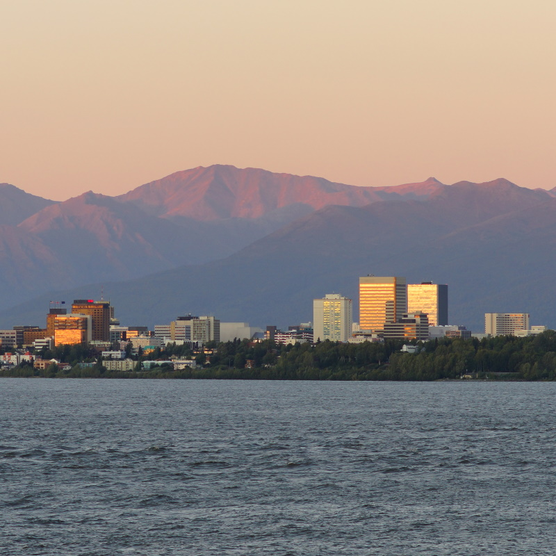 cook inlet anchorage alaksa downtown city skyline PLGNTT7