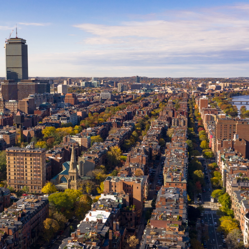 fall color autumn season south boston massachusett 3SJCZ4R