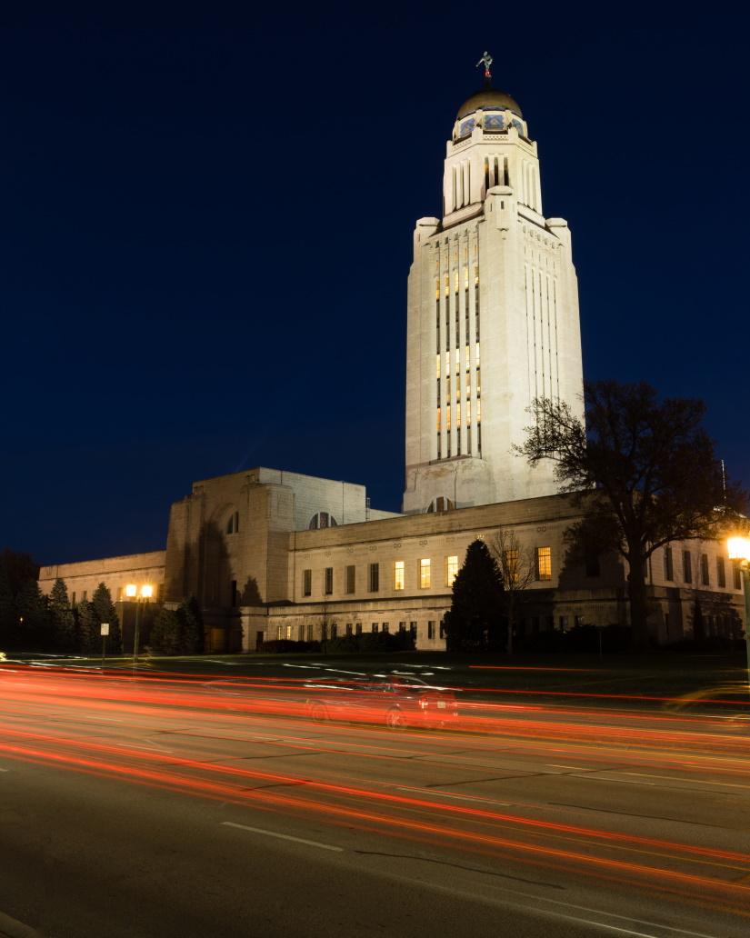 lincoln nebraska capital building government dome  P43DE38