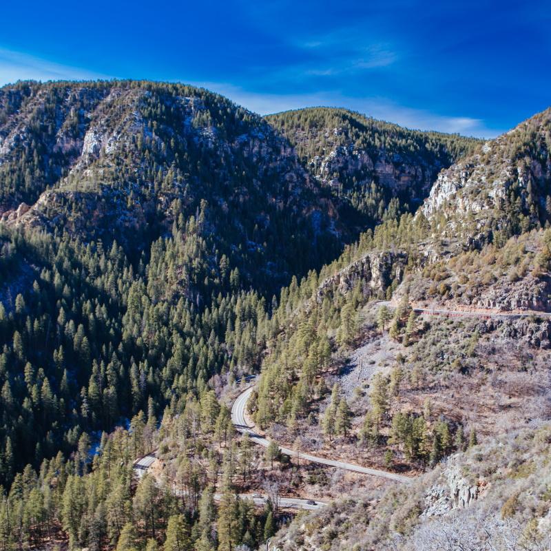 mesa rocky landscape in arizona usa EBKYHLE