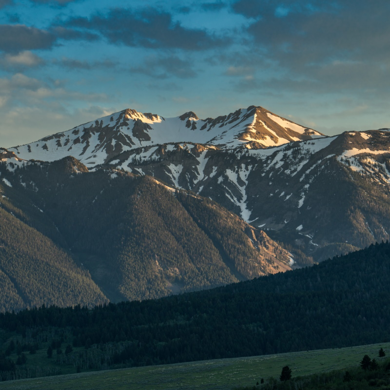 mountains in montana and idaho landscape YSRYGVN