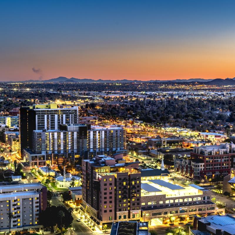 phoenix arizona city overlook PT82ZRY