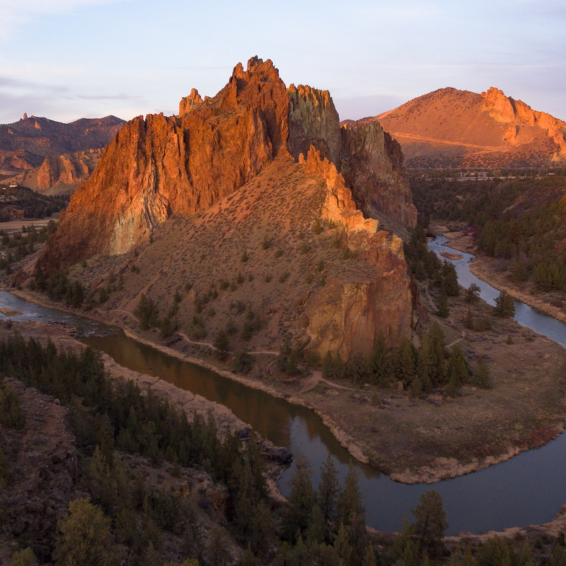 smith rock crooked river oregon state rocky butte PQN3FAU